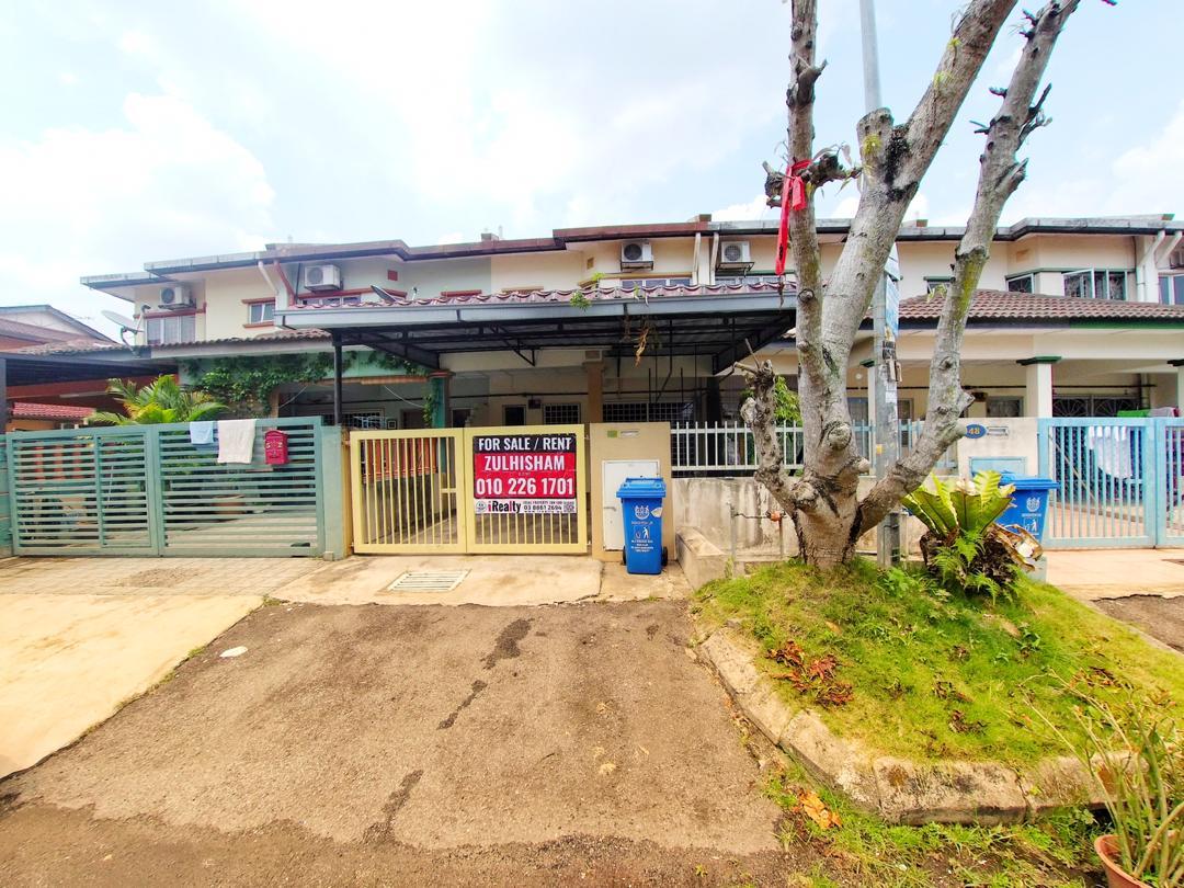 BELOW MARKET VALUE! Double Storey Taman Subang Idaman U5, Bandar Pinggiran Subang