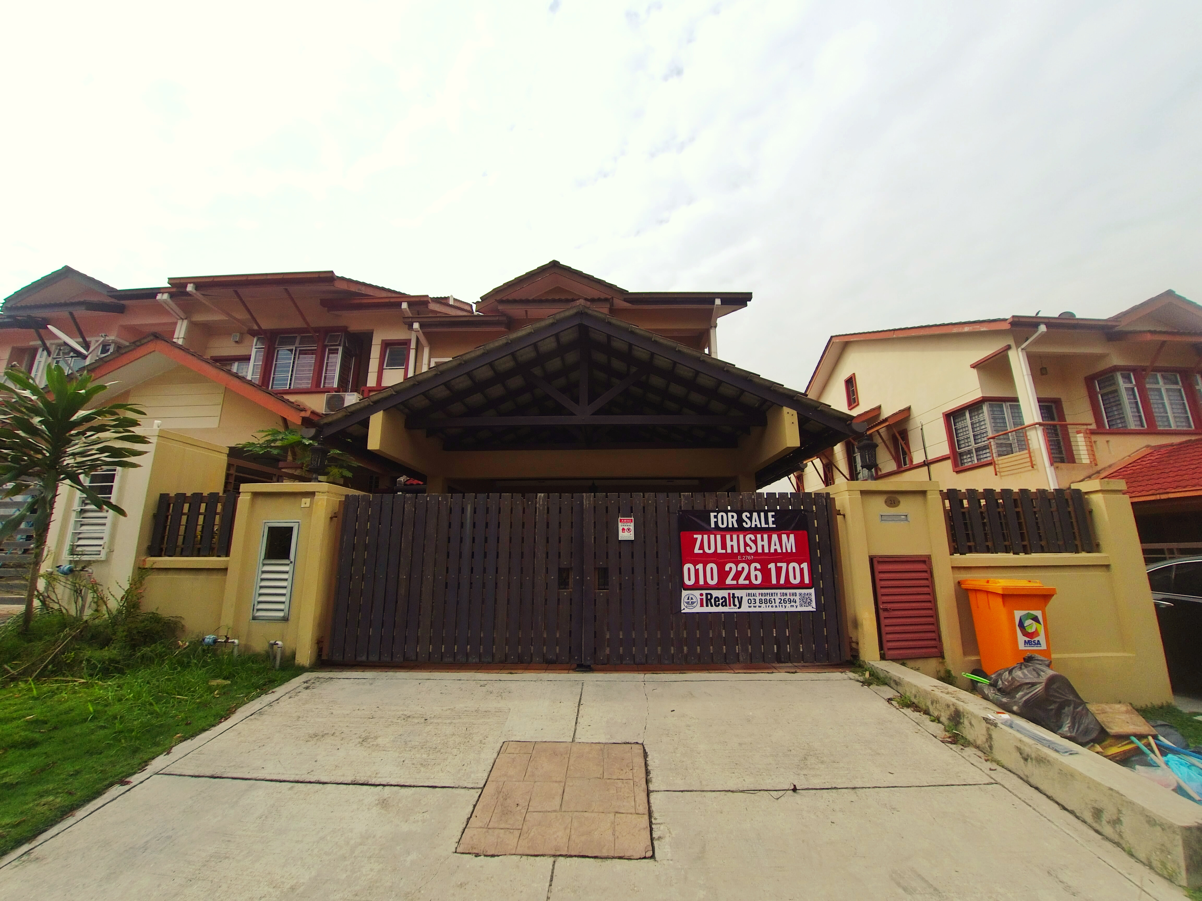 2 Storey End Lot Denai Alam Shah Alam
