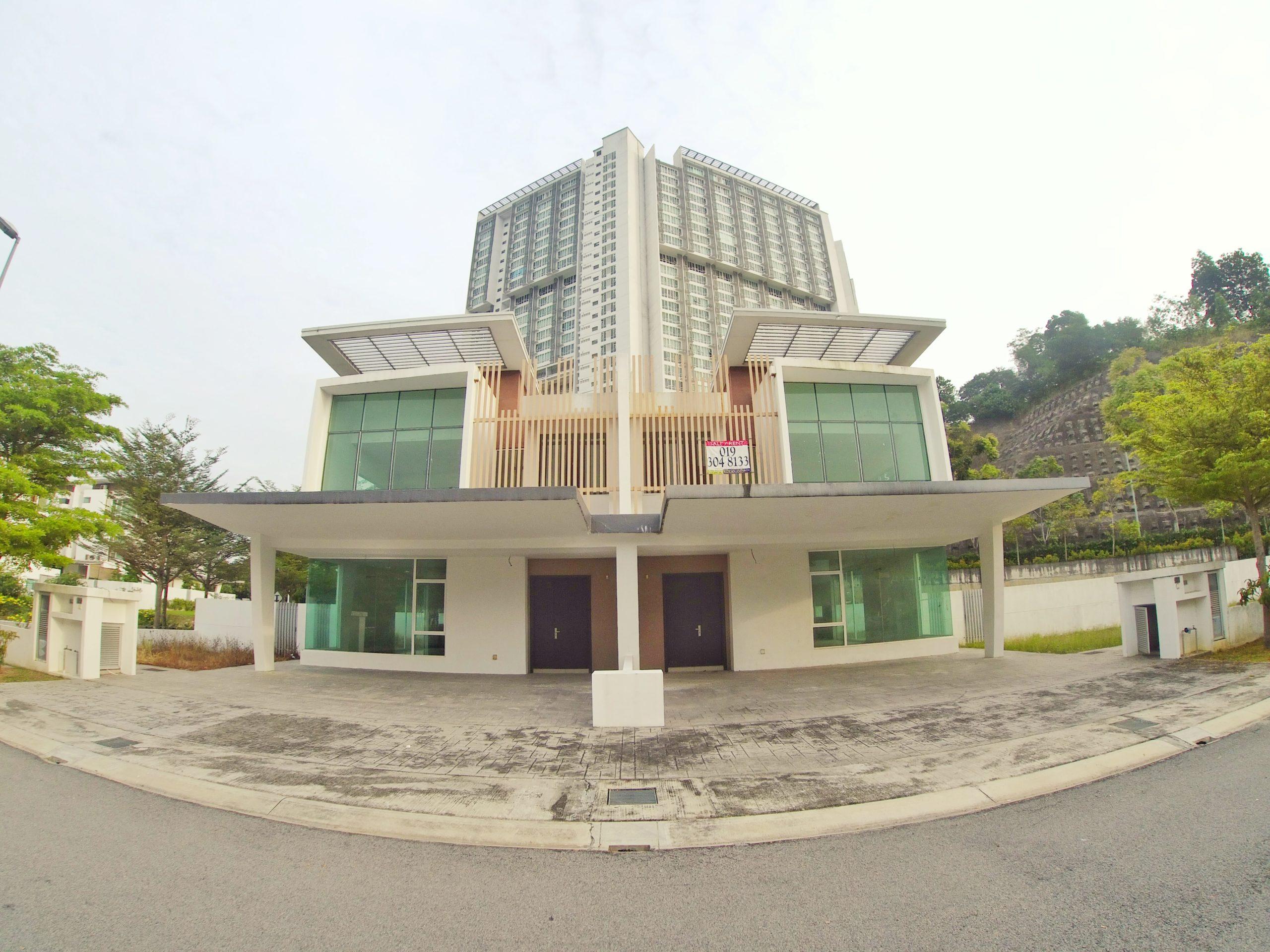 Corner Unit Semi-D Double Storey Cassia Garden Residence Cyberjaya