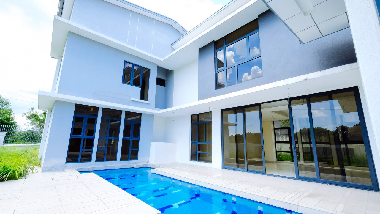Brand New Double Storey Bungalow with Private Pool Subang Heights East
